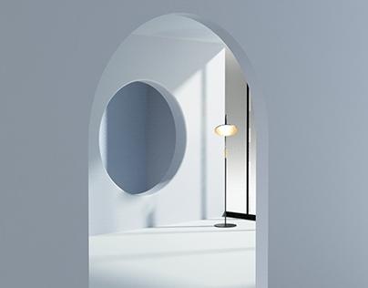 Reflexia, Floor Lamp