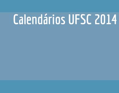 Calendários UFSC 2014
