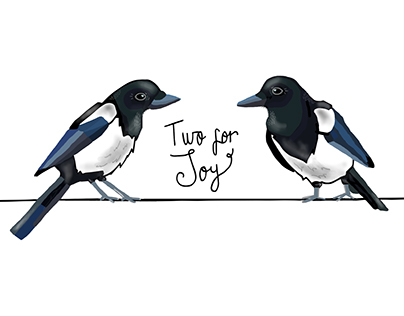 Two For Joy A5 Print
