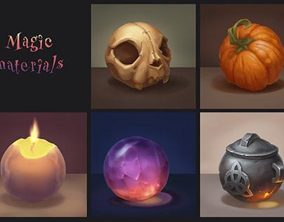 Magic materials