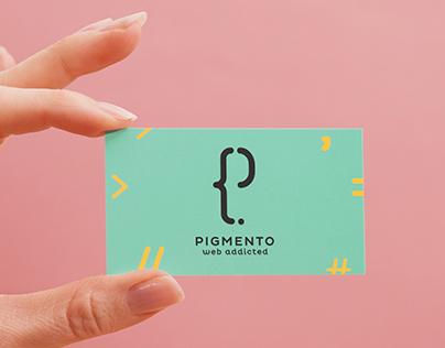 PIGMENTO - Logo & Business Card