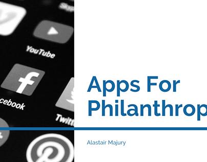 Alastair Majury | Apps for Philanthropy