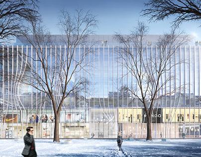 Frankfurt Opernplatz - Competition Visualisation