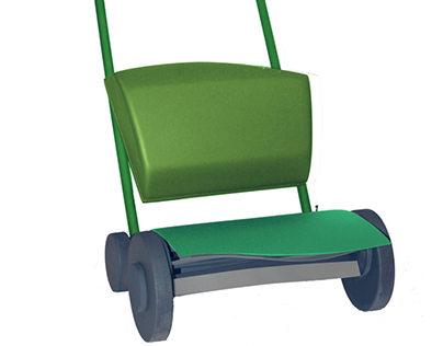 Cudder: mower and spreader for an eco-friendly lawn