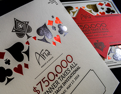 Aria Winner Takes All Blackjack Tournament Invitation
