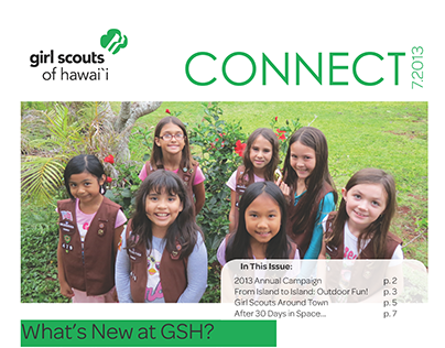 Girl Scouts of Hawaii Quarterly Newsletter, July
