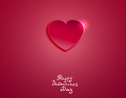 Free Vector for St. Valentine's Day