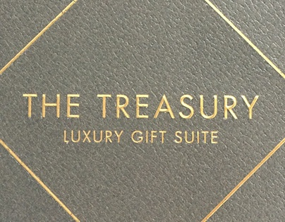 [PRINT] THE TREASURY - INVITE