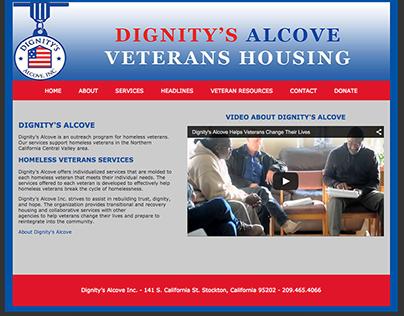 Website Design - Dignity's Alcove Inc,