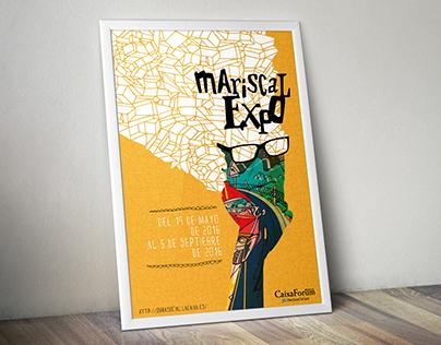 Poster de exposición de Mariscal