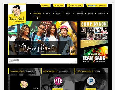 Byron Bank Mock Up Design