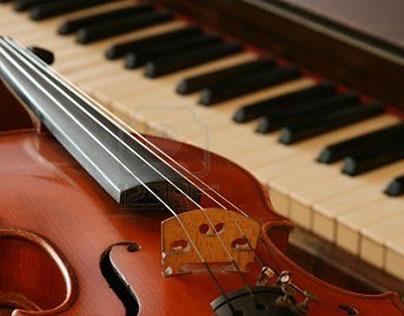 Пьесы для скрипки и ф-но