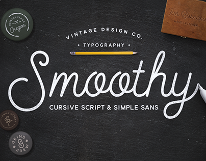 Smoothy Typeface