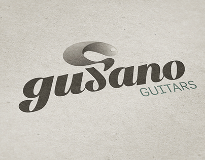 Gusano Guitars Logo Design