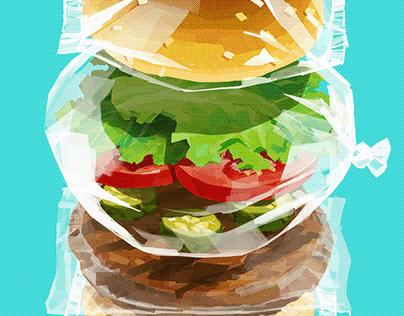 super fresh burger