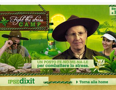 Fight the Stress Camp / Lipton Green Ice Tea