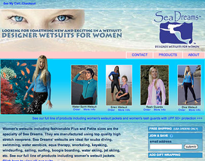 Sea Dreams Wetsuits for Women