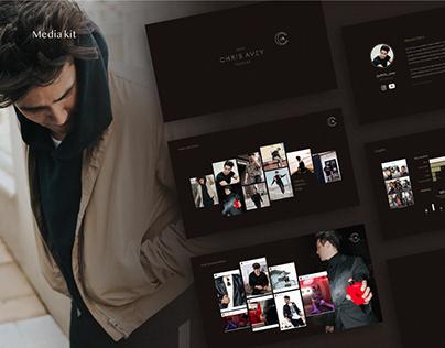 Visual Identity & Branding for Chris Avey
