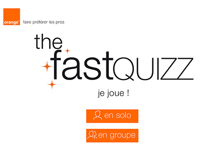ORANGE - the fast quizz