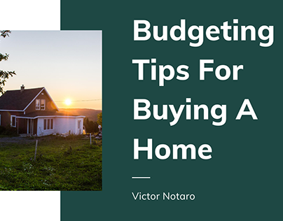 Budgeting Tips For Buying A Home