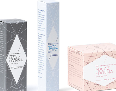 Mazz Hanna Wellness - Packaging and Product Labels