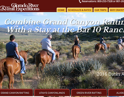 WordPress Theme Colorado River and Trail Expeditions