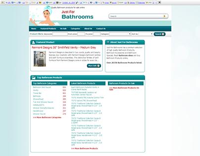 JustforbathroomsResponsive Web Design