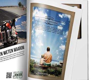 Magazine Mockup Ad USA