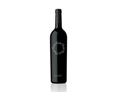 Wine Bottle Identity Design