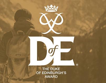 DUKE OF EDINBURGH'S AWARD NEW REWARD CARD DESIGN