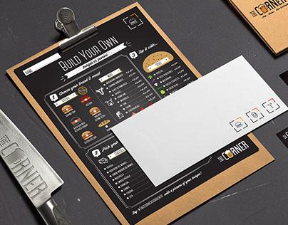 Identity Design for Gourmet Burger Bar & Pub