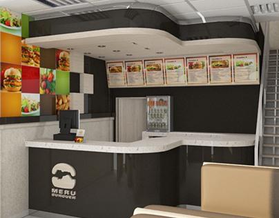 Propuesta Local comida rápida • Meru Burger