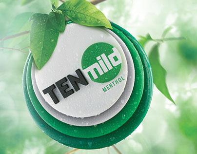 TEN Mild Menthol Branding