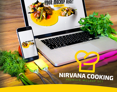 Nirvana Cooking Mockup Set
