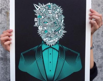 Yeezus (Perfekt Prints Edition No. 2 Exhibition)