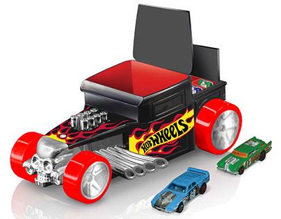 Embalagem/Packaging: Hotwheels, Boneshaker