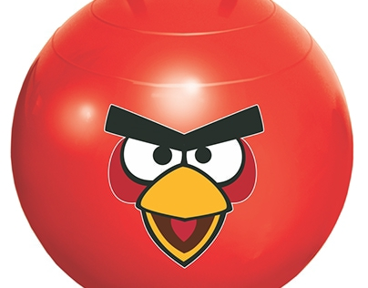 Embalagem/Packaging: Angry Birds, Pula pula