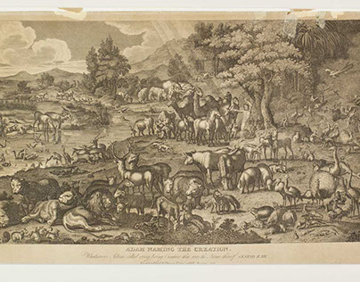 Adam Naming the Creation 1823