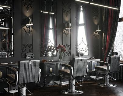 Barbershop in Poland