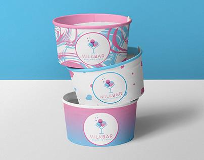 Milkbar Ice Cream Identity