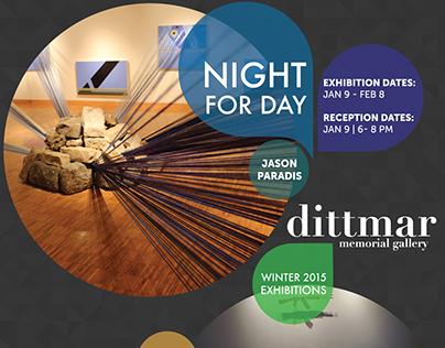 Dittmar Gallery Winter Exhibits