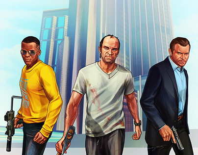 GTA V - Michael, Franklin and Trevor - my version