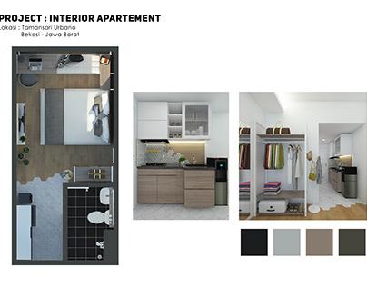 Interior Apartement Design Project (Aug 2020)