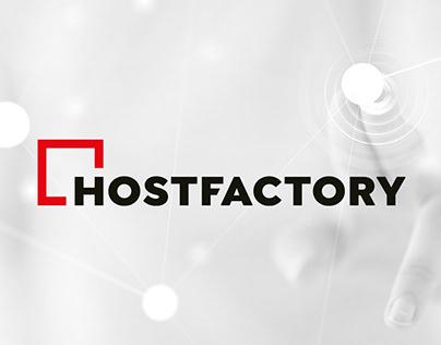 Branding & UX/UI - Hostfactory