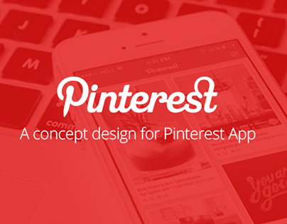 Pinterest App Redesign