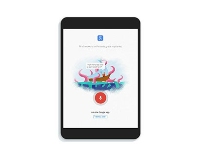 Google Search Concept Illustrations