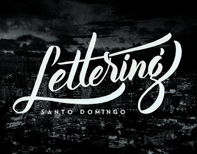 Lettering Santo Domingo