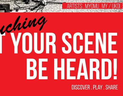 Let Your Scene Be Heard - MYOMU