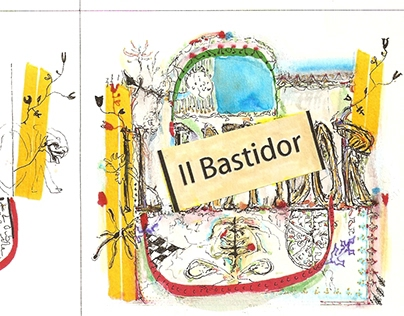 Arkul - il bastidor CD booklet art and video link