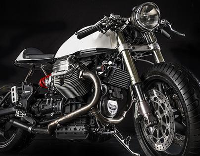 """MotoGuzzi V11 """"SORPASSO"""" café racer"""